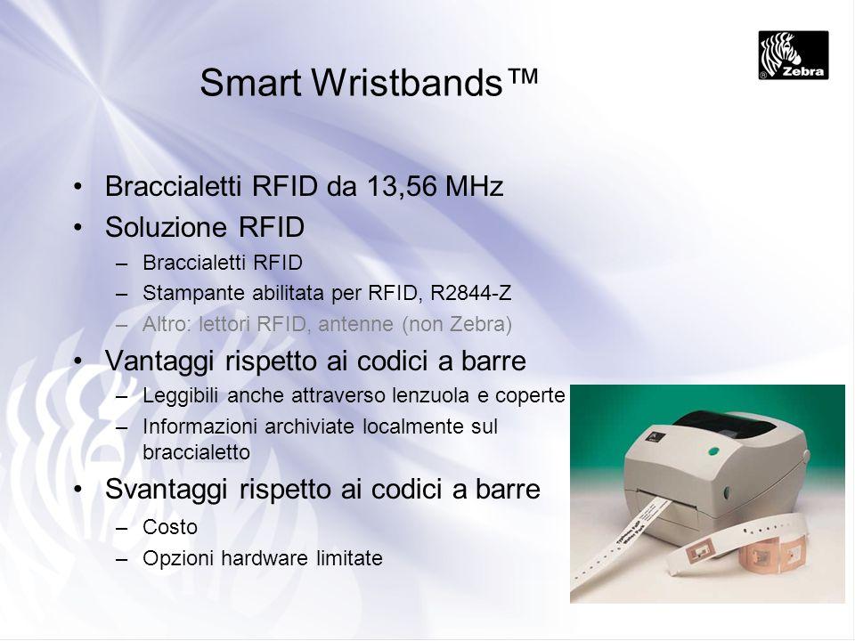 Smart Wristbands™ Braccialetti RFID da 13,56 MHz Soluzione RFID