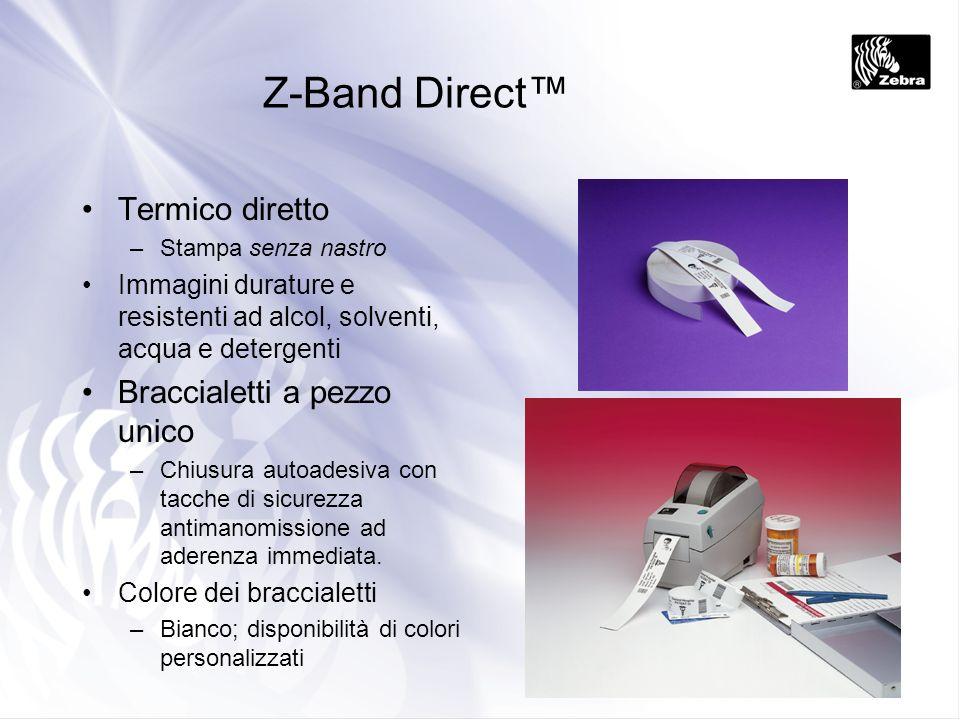 Z-Band Direct™ Termico diretto Braccialetti a pezzo unico