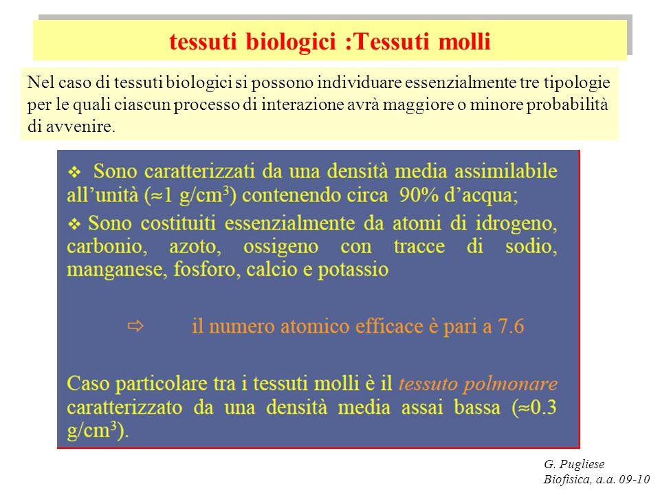 tessuti biologici :Tessuti molli
