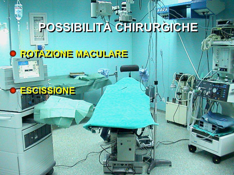 POSSIBILITÀ CHIRURGICHE