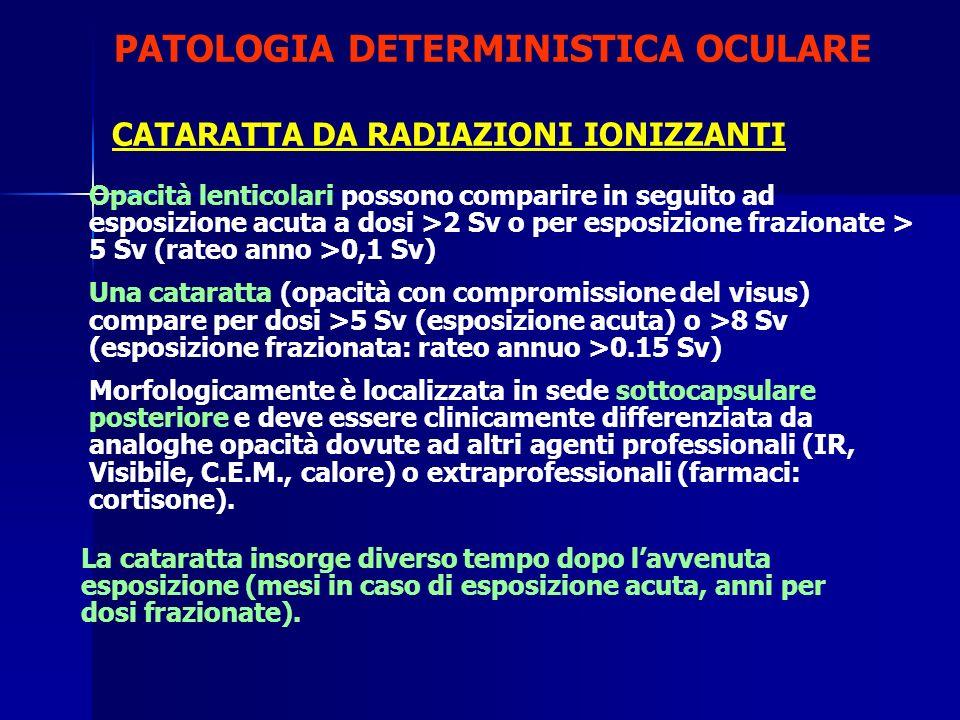 PATOLOGIA DETERMINISTICA OCULARE