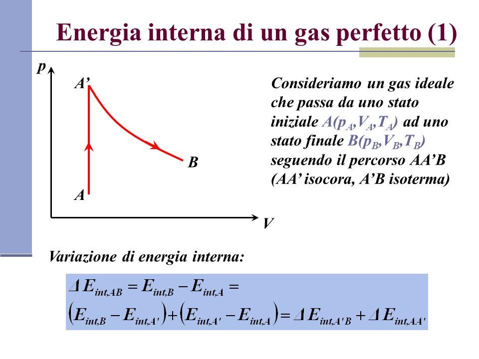Energia interna di un gas perfetto (1)