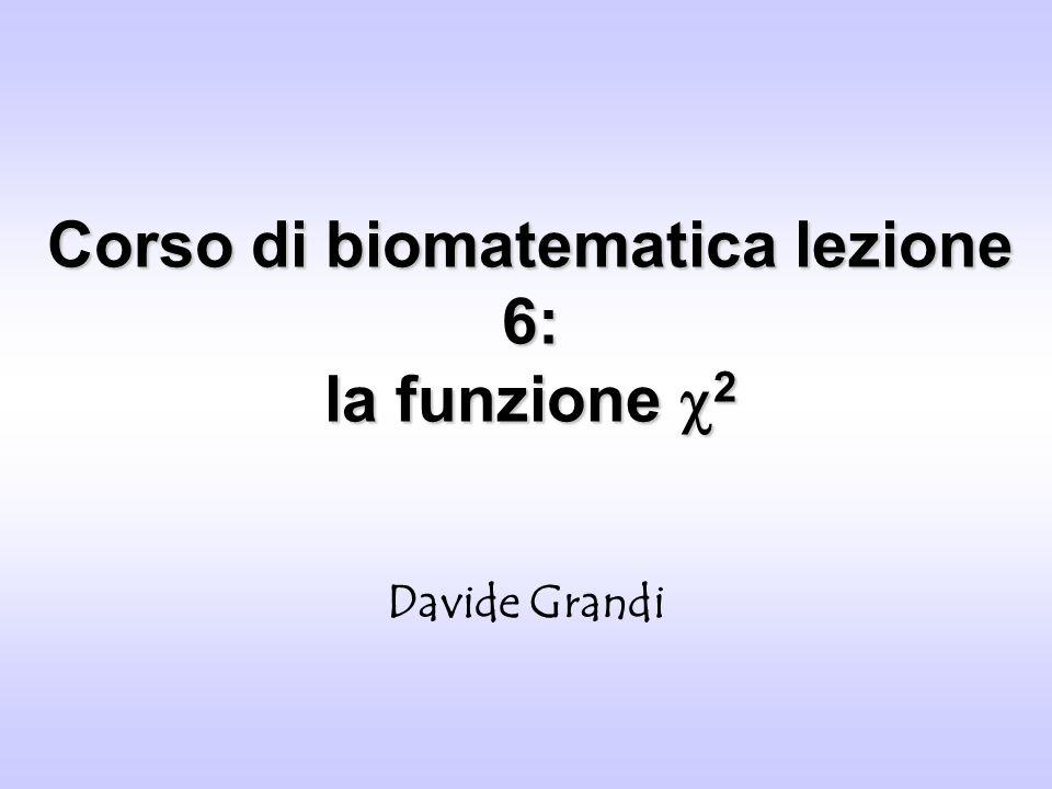 Corso di biomatematica lezione 6: la funzione c2