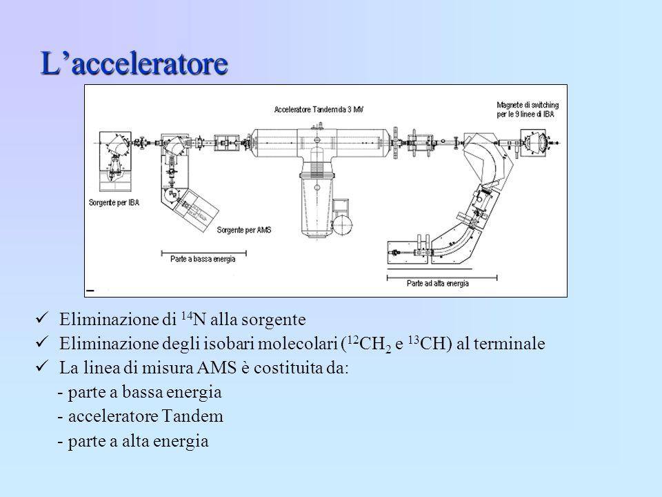 L'acceleratore Eliminazione di 14N alla sorgente