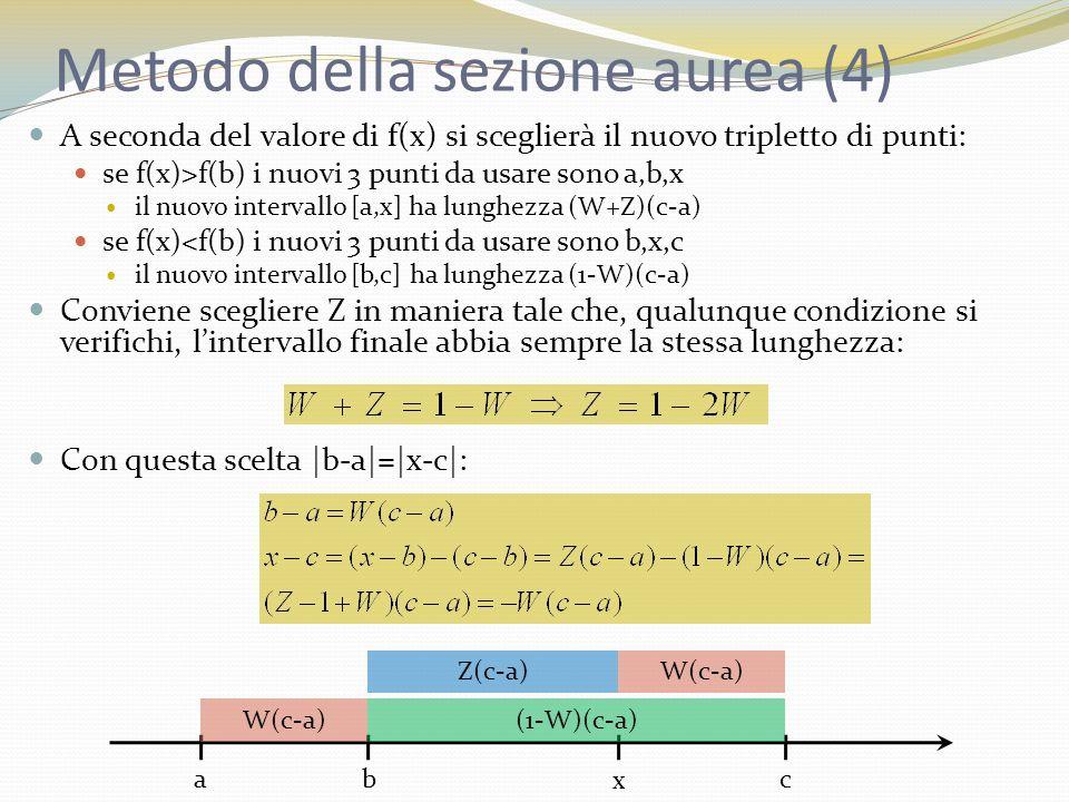 Metodo della sezione aurea (4)