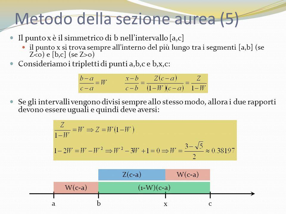 Metodo della sezione aurea (5)