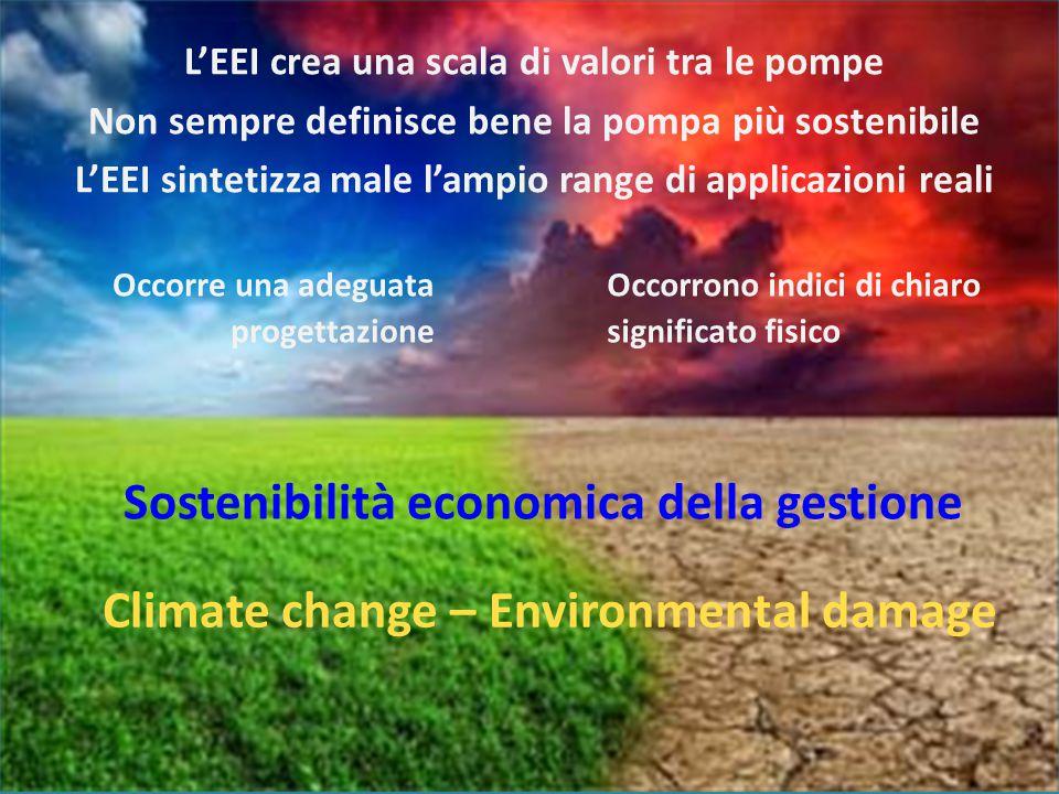 Sostenibilità economica della gestione