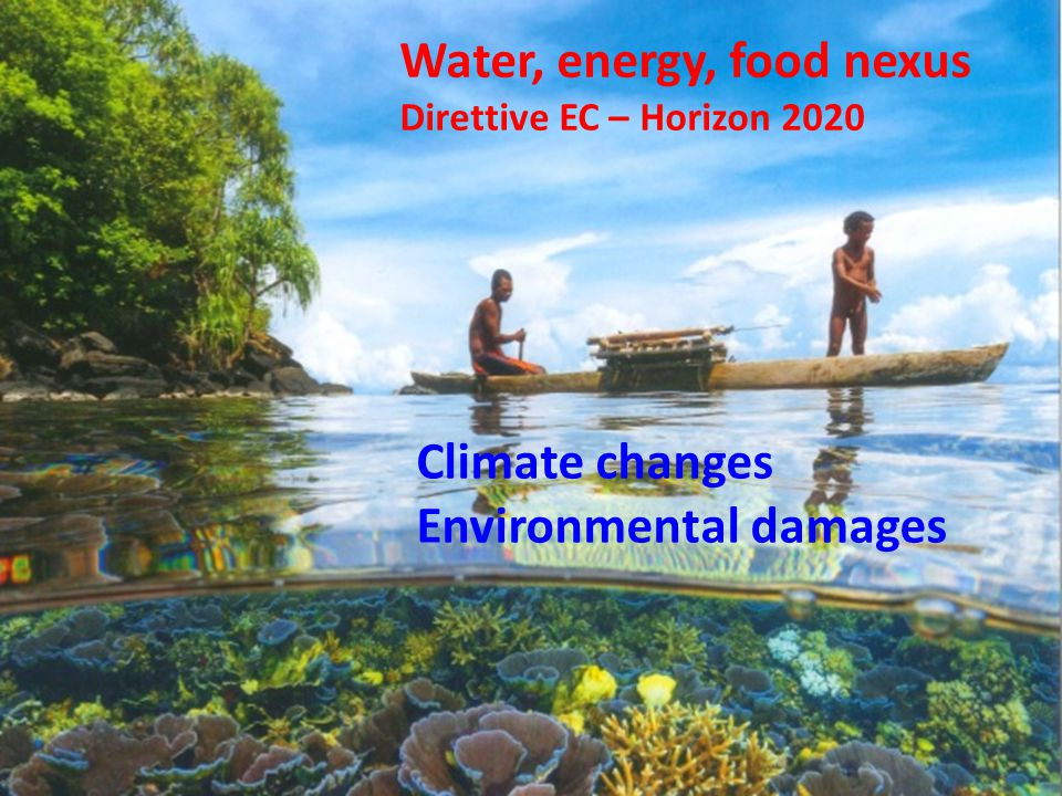 Water, energy, food nexus