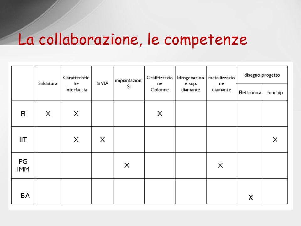 La collaborazione, le competenze