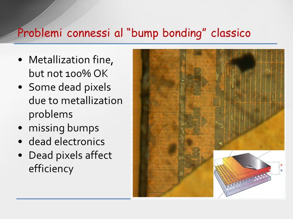 Problemi connessi al bump bonding classico