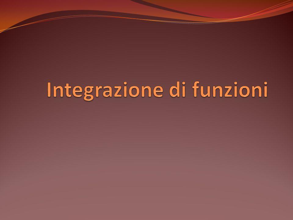 Integrazione di funzioni