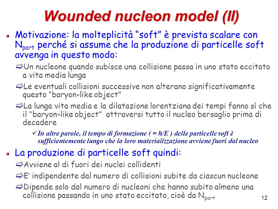 Wounded nucleon model (II)
