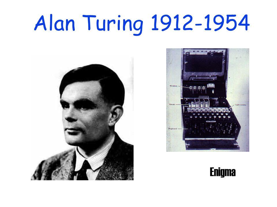 Alan Turing 1912-1954 Enigma