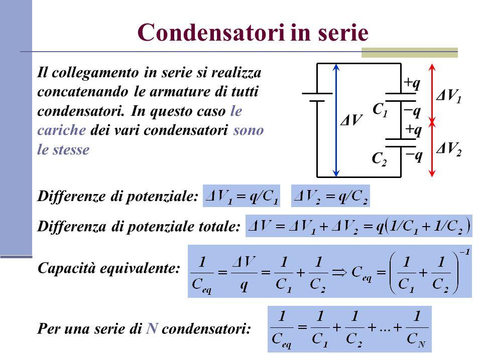 Condensatori in serie