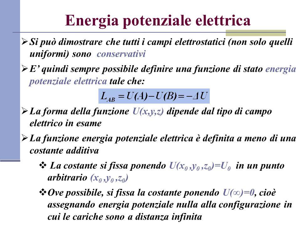 Energia potenziale elettrica