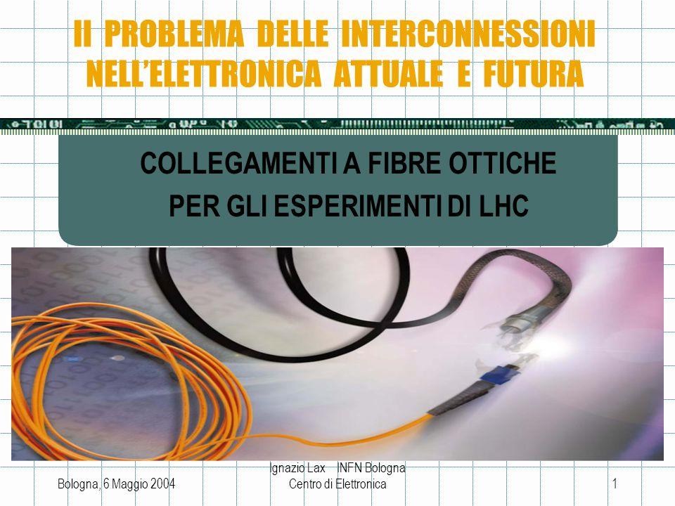 Il PROBLEMA DELLE INTERCONNESSIONI NELL'ELETTRONICA ATTUALE E FUTURA