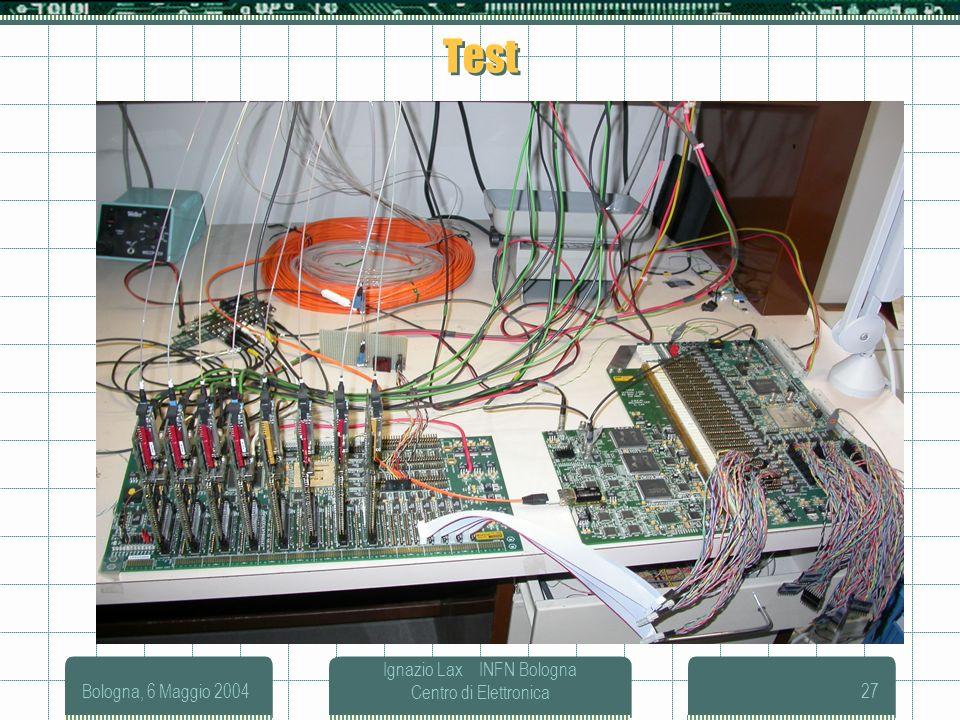 Ignazio Lax INFN Bologna Centro di Elettronica