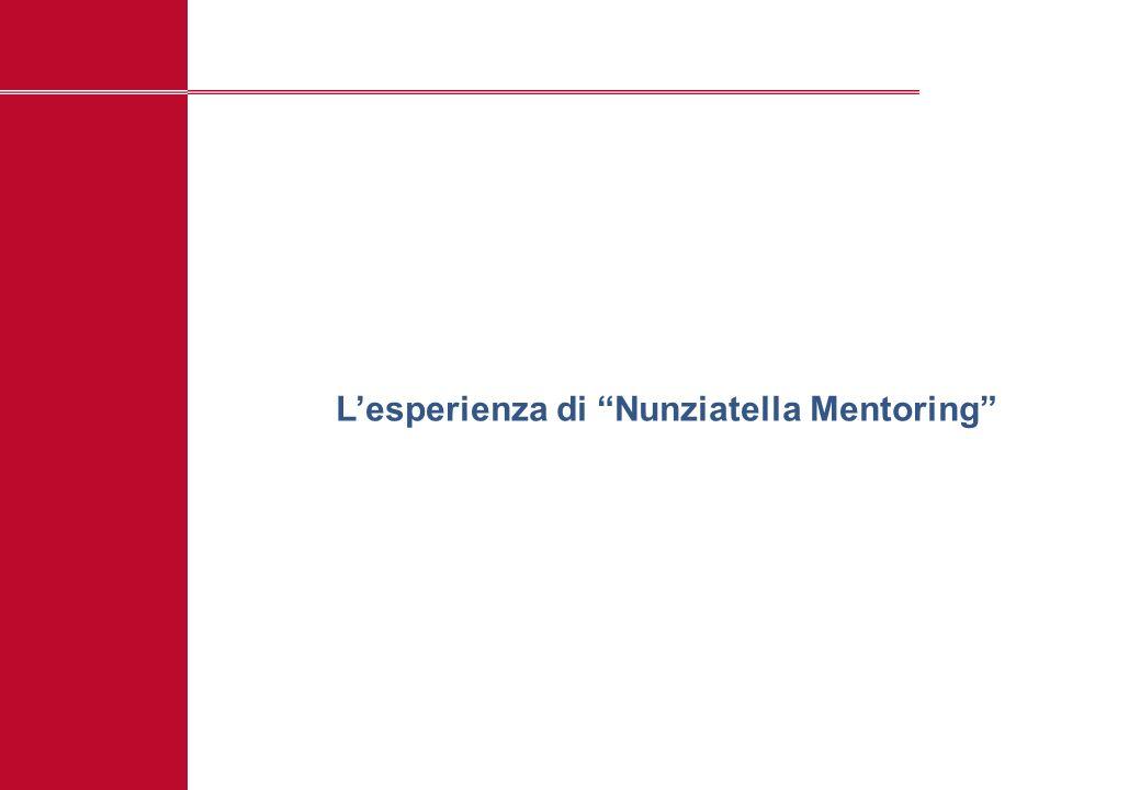 L'esperienza di Nunziatella Mentoring