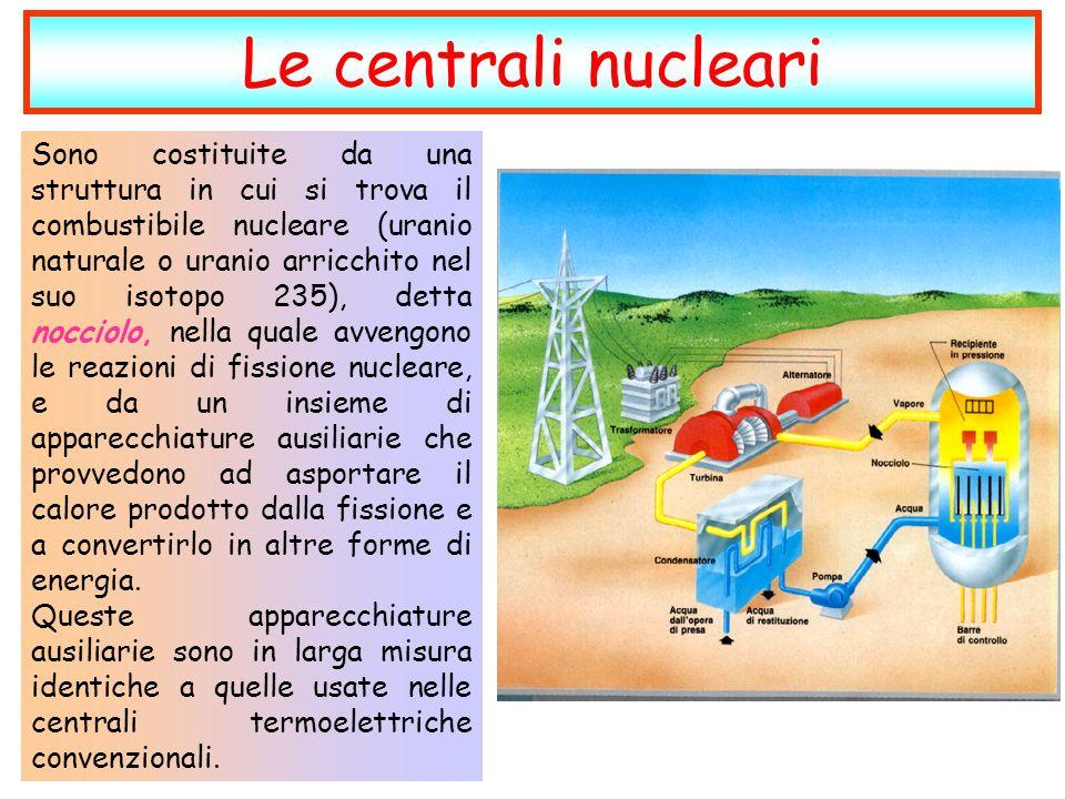 Le centrali nucleari