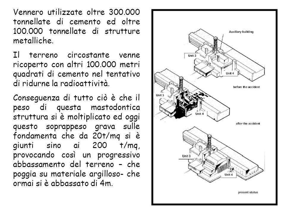Vennero utilizzate oltre 300. 000 tonnellate di cemento ed oltre 100