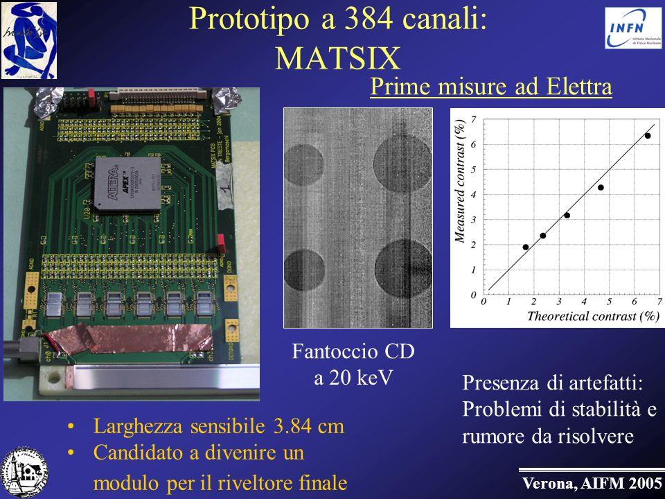 Prototipo a 384 canali: MATSIX