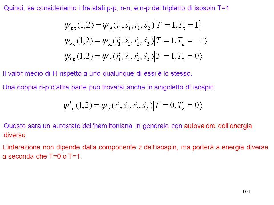 Il valor medio di H rispetto a uno qualunque di essi è lo stesso.