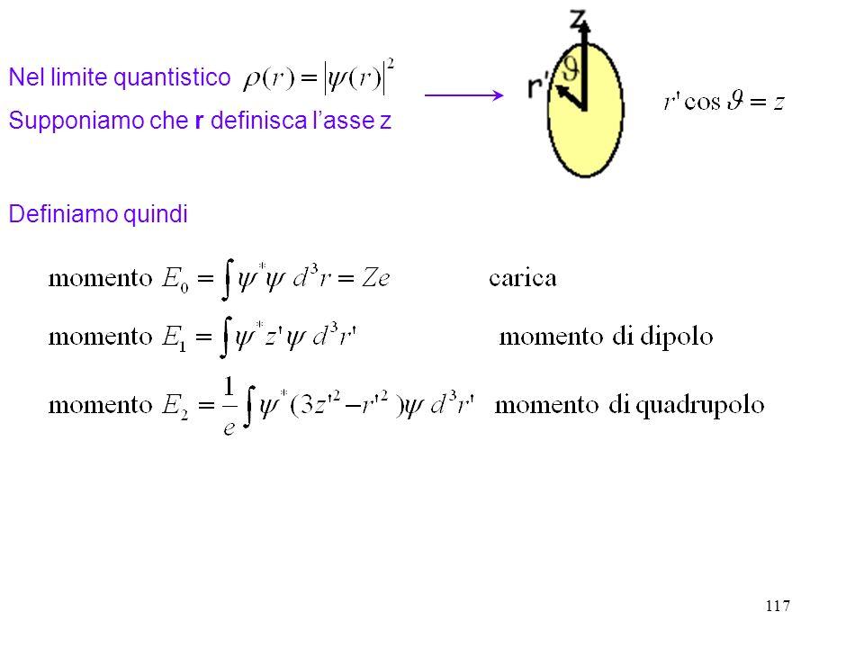 Nel limite quantistico