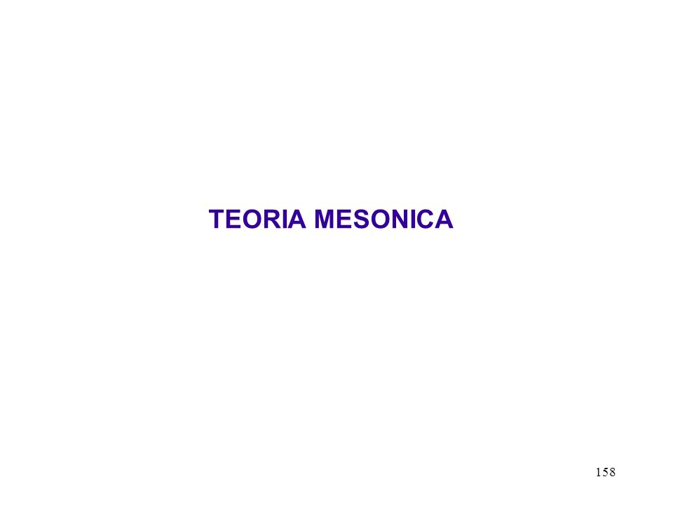 TEORIA MESONICA