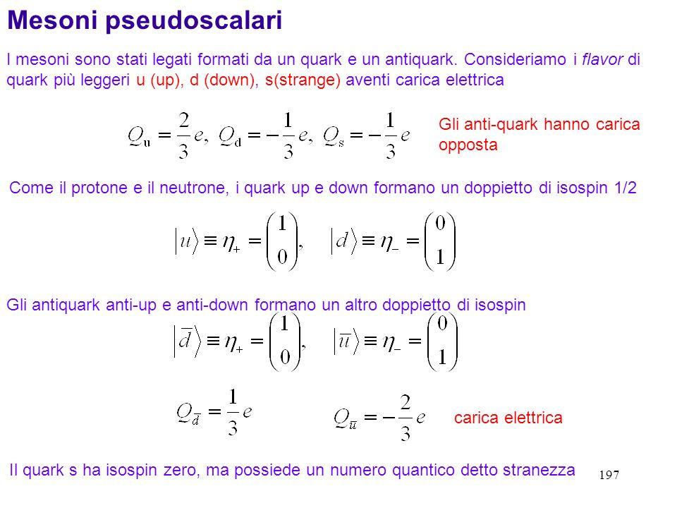 Mesoni pseudoscalari