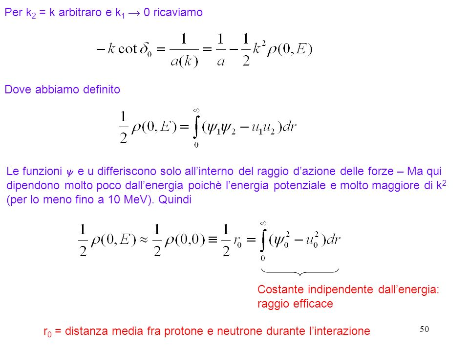 Per k2 = k arbitraro e k1  0 ricaviamo