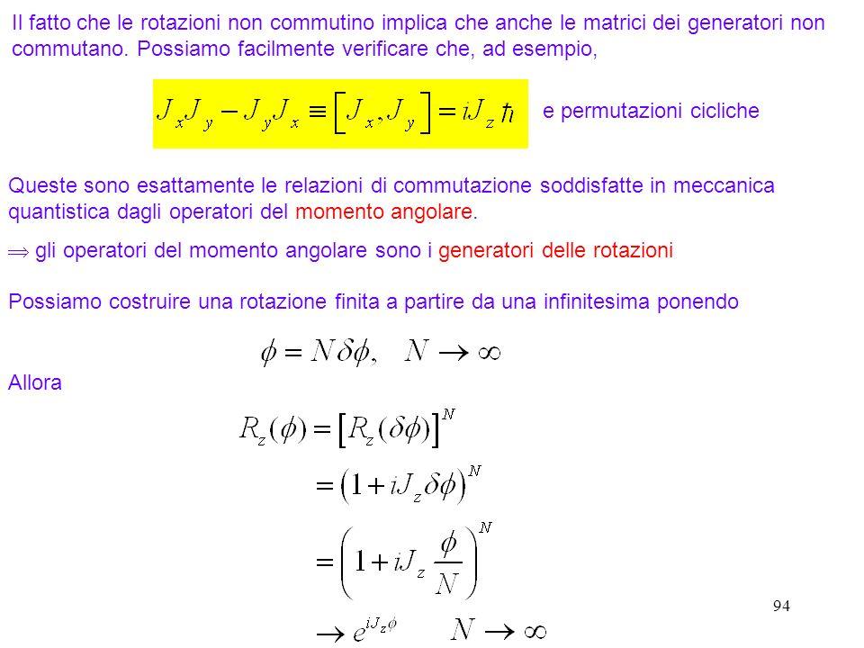 e permutazioni cicliche