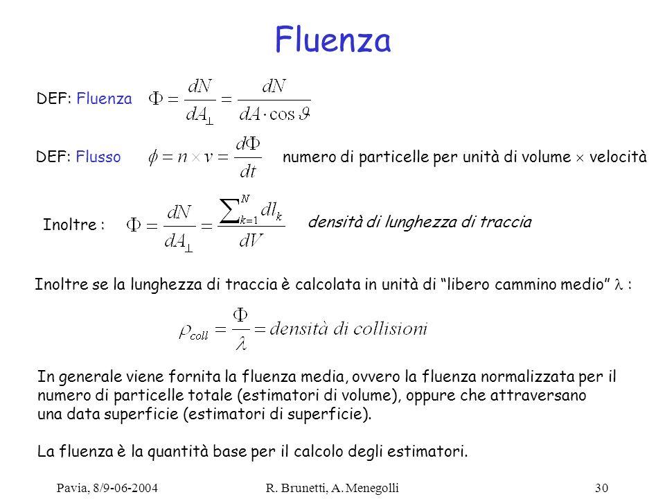 Fluenza DEF: Fluenza DEF: Flusso