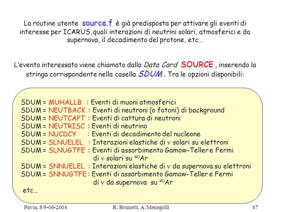 SDUM = MUHALLB : Eventi di muoni atmosferici