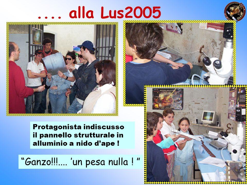.... alla Lus2005 Ganzo!!!.... 'un pesa nulla !
