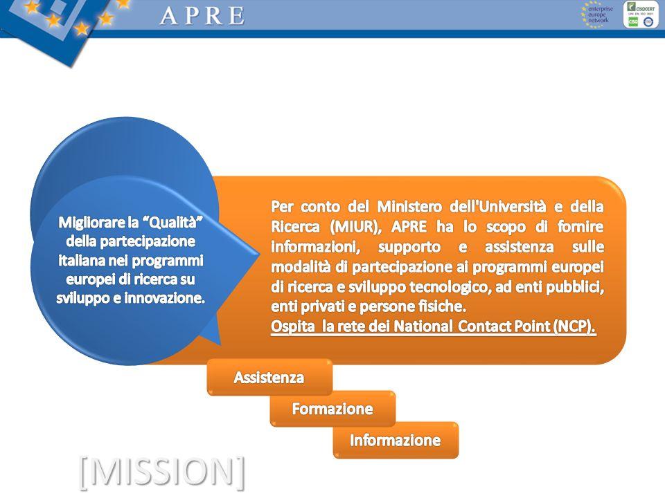 Migliorare la Qualità della partecipazione italiana nei programmi europei di ricerca su sviluppo e innovazione.