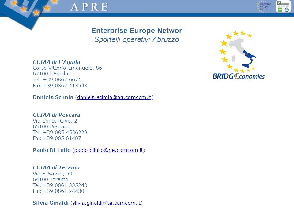 Enterprise Europe Networ