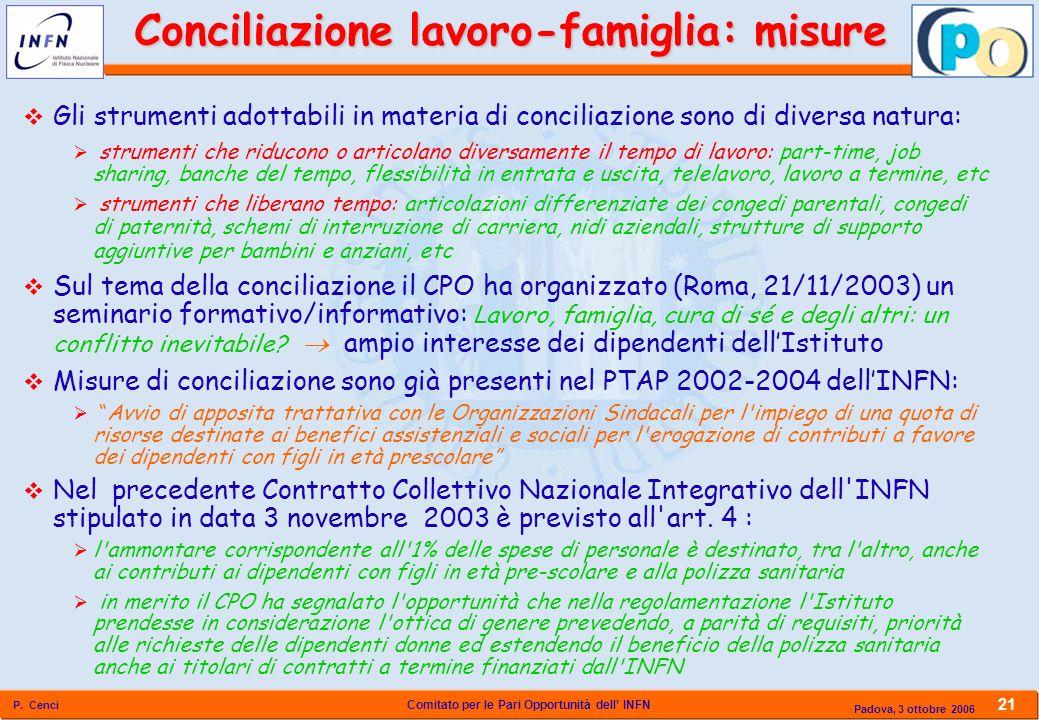Conciliazione lavoro-famiglia: misure