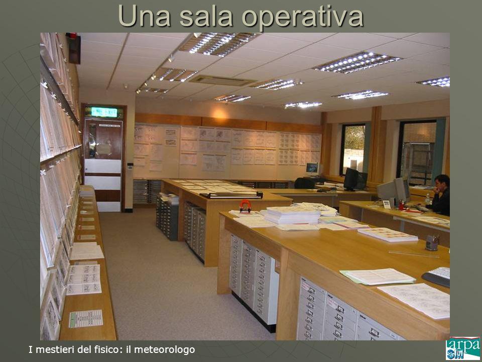 Una sala operativa