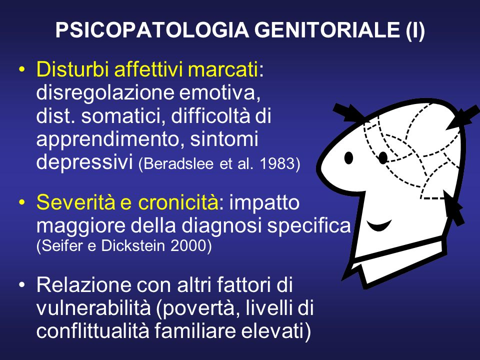 PSICOPATOLOGIA GENITORIALE (I)