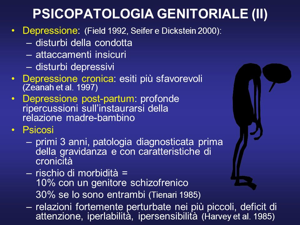 PSICOPATOLOGIA GENITORIALE (II)