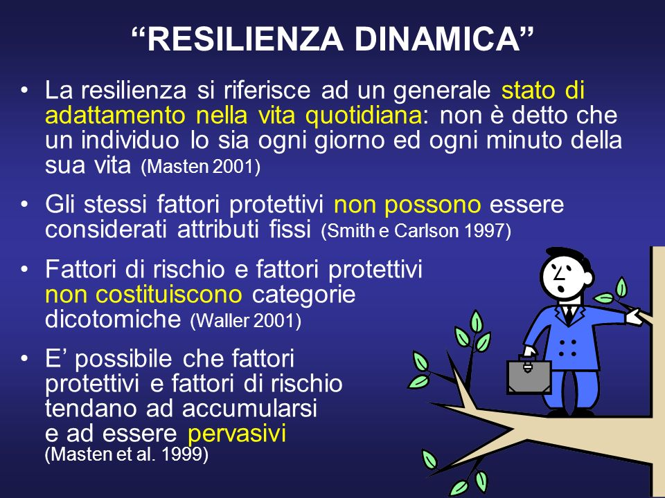 RESILIENZA DINAMICA