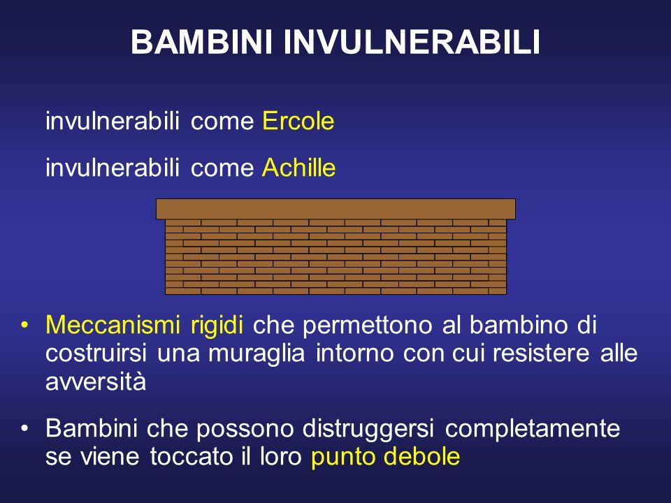 BAMBINI INVULNERABILI
