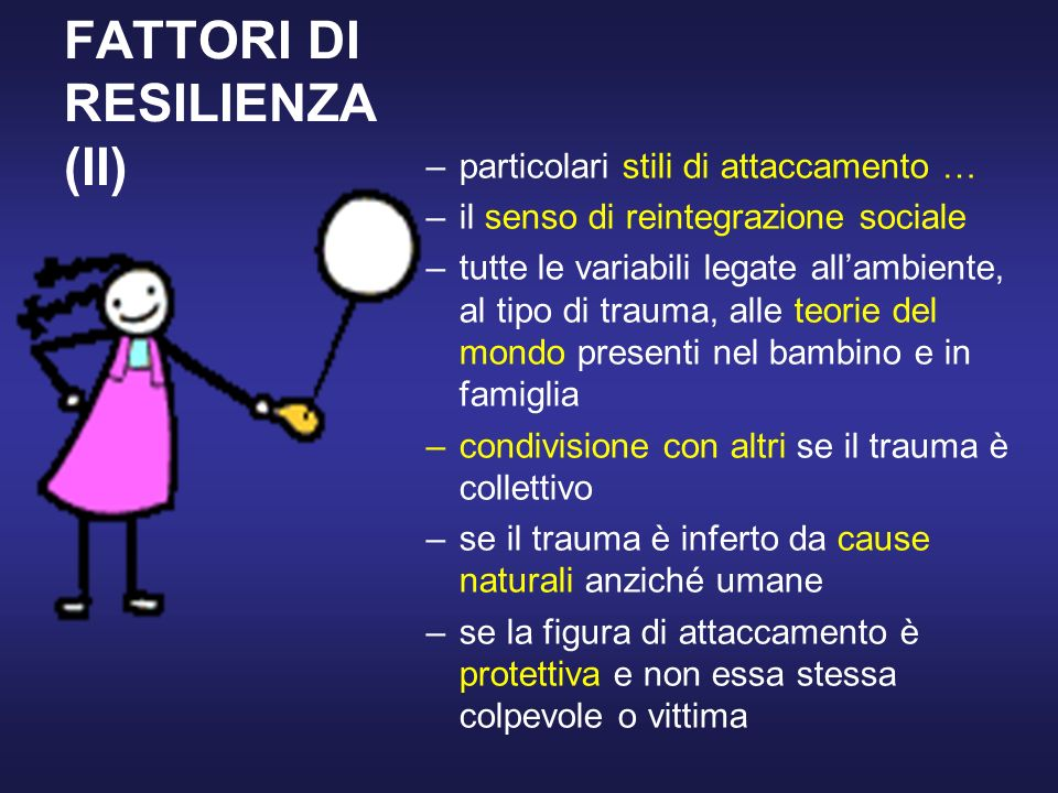 FATTORI DI RESILIENZA (II)