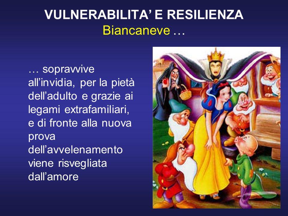 VULNERABILITA' E RESILIENZA Biancaneve …