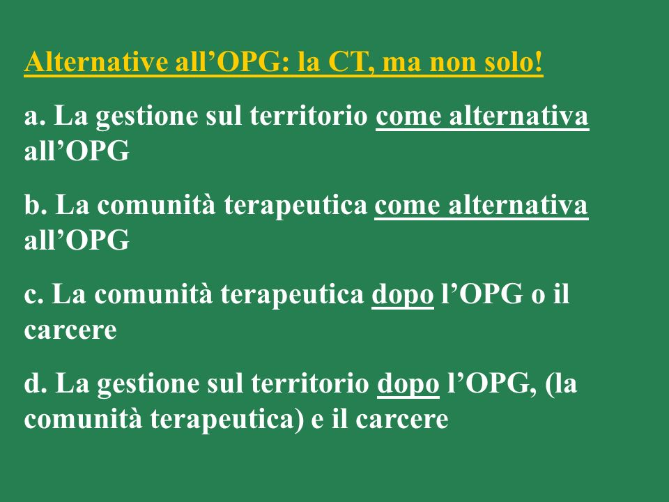 Alternative all'OPG: la CT, ma non solo!