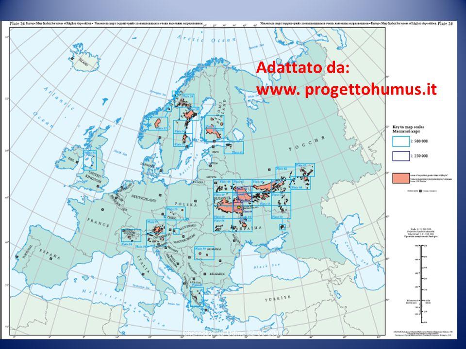 Adattato da: www. progettohumus.it Chernobyl 25 Udine 22-06-2011