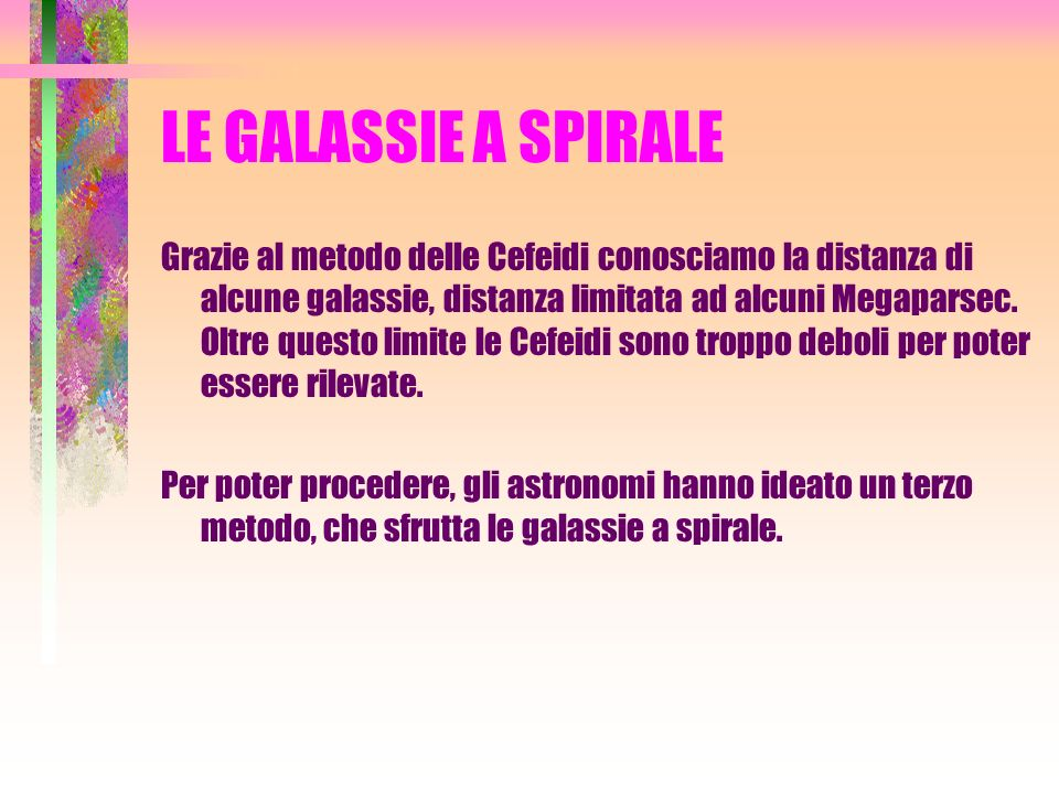 LE GALASSIE A SPIRALE