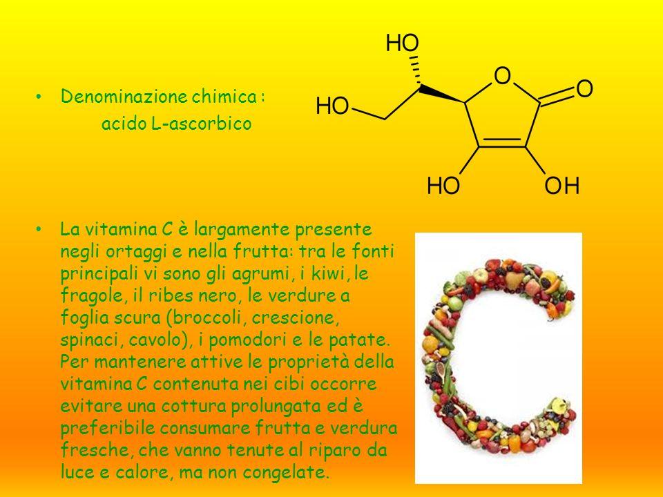 Denominazione chimica :