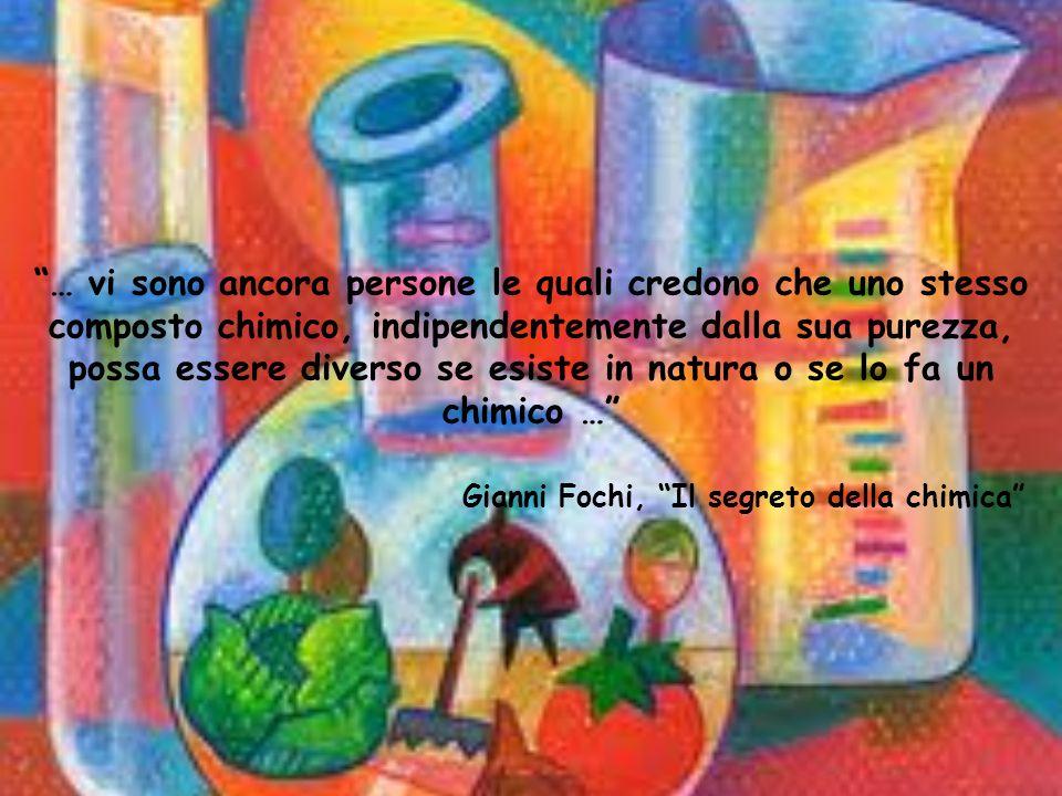 Gianni Fochi, Il segreto della chimica