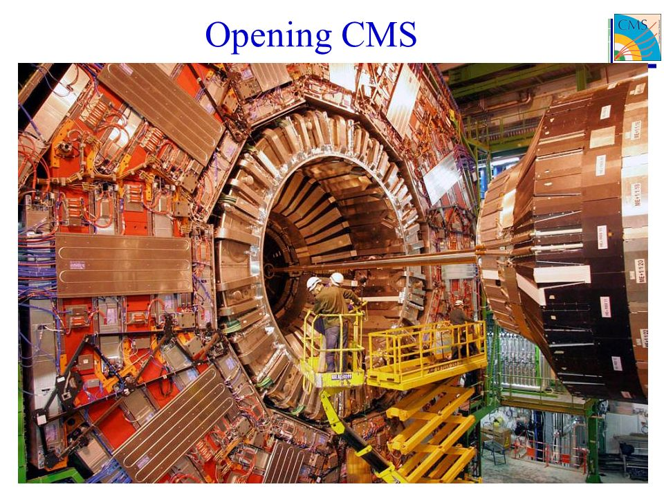 Opening CMS